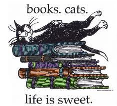 Books with cat