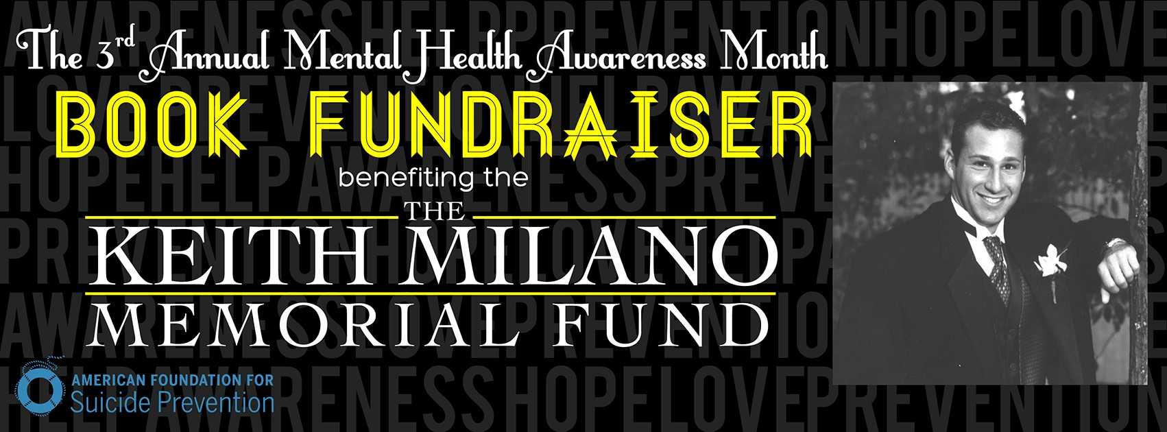 The Keith Milano Fund Banner
