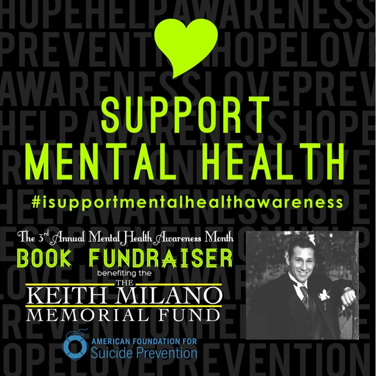 The Keith Milano Fund_I Support Mental Health Awareness Button